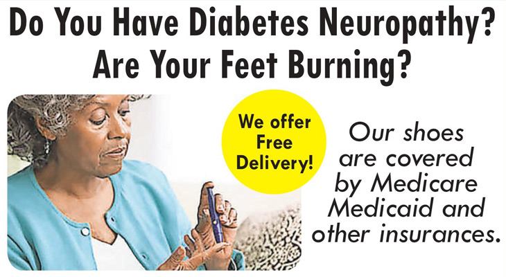 Do you have Diabetes Neuropathy? are your feet burning? Basinger's Pharmacy got you covered!